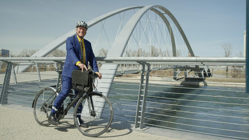 Lonny Balbi, Bike to Work Day