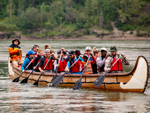 EPCOR RiverFest Canoe