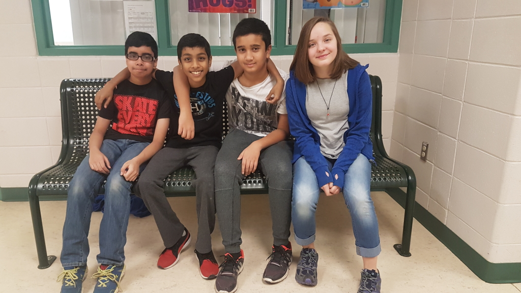"""EcoYOLO receives the Youth Category award for their project """"Mission Replant Fort McMurray."""""""