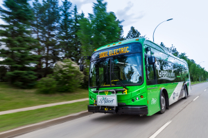 City of St. Albert Electric Bus